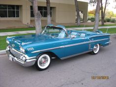 "1958 ""Fully"" Restored Chevy Impala Convertible"