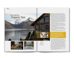 magazine spread inspiration - Google Search