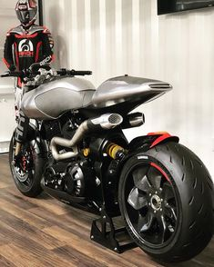 Visited our friends and their impressive facility where their bespoke motorcycles are conceptualized, produced, and over… Arch Motorcycle, Cafe Racer Motorcycle, Moto Bike, Motorcycle Design, Bike Design, Custom Street Bikes, Custom Sport Bikes, Custom Motorcycles, Cafe Racer Bikes