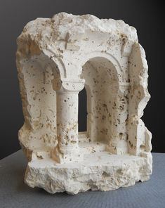Miniature Spaces Carved From Stone,Arven. Image © Matthew Simmonds