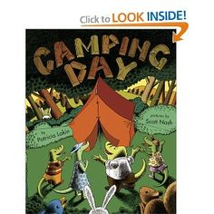 Children's books about camping