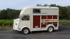 Citroën HY outfitted as a complete mobile kitchen.