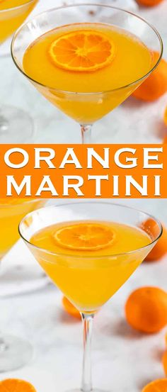 The perfect easy Orange Martini is made with vodka, triple sec, and fresh orange juice! This is the perfect easy homemade martini recipe. via @crazyforcrust