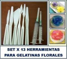 Tools need to create the Flowers in a Gelatin