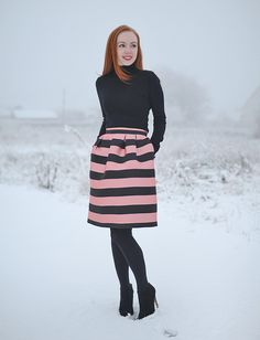 Pink stripes are totally different from white stripes