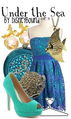 """""""Under the Sea"""" by lalakay ❤ liked on Polyvore"""