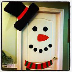 Snowman door!!!