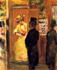 After the Theater / Pierre Bonnard - 1902 ۩۞۩۞۩۞۩۞۩۞۩۞۩۞۩۞۩ Gaby Féerie créateur de bijoux à thèmes en modèle unique ; sa.boutique.➜ http://www.alittlemarket.com/boutique/gaby_feerie-132444.html ۩۞۩۞۩۞۩۞۩۞۩۞۩۞۩۞۩