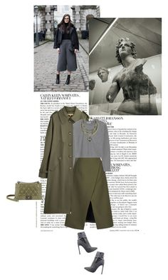 """""""Untitled #521"""" by tamara-40 ❤ liked on Polyvore featuring McGinn, Michael Kors, Josh Goot, T By Alexander Wang, Chanel, Yves Saint Laurent, skirt, GREEN and fashionset"""