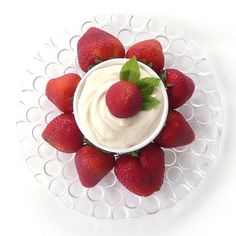 Cream Cheese Fruit Dip | This Chick Cooks