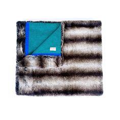 Win a handmade luxury faux fur throw from Wolf & Badger Faux Fur Throw, Badger, Wolf, Stylists, Luxury, Handmade, Magazine, Interior, Faux Fur Blanket