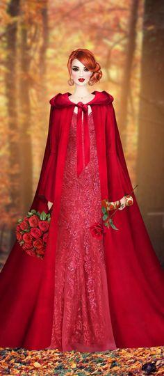 Red Hair Woman, Aurora Sleeping Beauty, Victorian, Costumes, Female, Disney Princess, Clothing, Dresses, Fashion