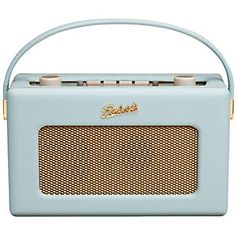 """Roberts Revival Radio - """"a radio from the Roberts Revival Dab range. Although they may look authentically vintage in duck egg blues and pastel pinks, these pretty cases actually house state-of-the-art technology."""""""