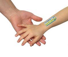 Safety Tats - selbstklebende Kinder-Tattoos 6-er