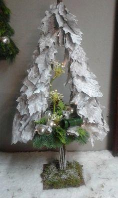 Workshop bloemschikken kerst 2015