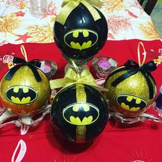 Palle di natale#merrycristmas# albero#batman