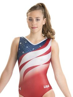 42624ee65456 Final Five Replica Leotard from GK Elite and Under Armour Gymnastics  Uniforms, Gk Gymnastics,
