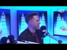 Olly Murs Backstage At The Jingle Bell Ball 2013 - Capital FM Radio Interview