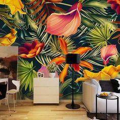 photo wallpaper custom room non-woven mural Tropical rainforest plants HD photo Sofa TV background wallpaper for wall