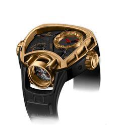 Hublot   Masterpiece Key of Time King Gold