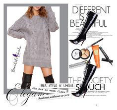 """""""beautifulhalo 17"""" by ajsajunuzovic ❤ liked on Polyvore featuring Mode, Borghese, vintage und bhalo"""