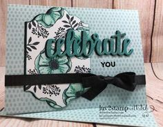 FREE Stampin Up 2018 Sale-A-Bration stamp set Amazing You and Tutti Frutti Cards and Envelopes, Card by Debie Deschaine, Independent Stampin Up Demonstrator