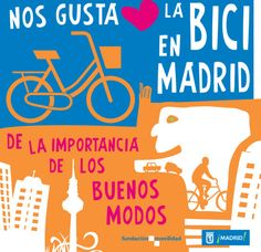 Nos gusta la bici en Madrid