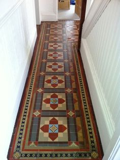 Floor Tile Victorian Floor Beautiful Tile Flooring Ideas For Living Room Kitchen . Flooring Is It Normal For Subfloor To Extend Under Walls . Victorian Hallway, Victorian Tiles, Victorian Interiors, Victorian Flooring, Victorian Townhouse, Hall Tiles, Tiled Hallway, Floor Design, Tile Design