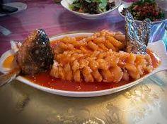 Sichuan: 松鼠鱼 Songshu yu - Squirrel Fish