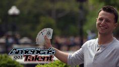 Mat Franco: Card Trick Paints Picture of Howie Mandel - America's Got Talent 2014
