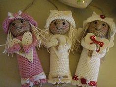 Gjern Strikkeforum: Hæklede engle
