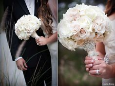 Gardenia and Roses bouquet