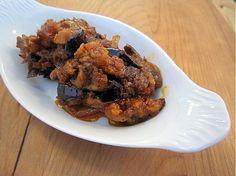 Chatzilim (Israeli Eggplant Salad) - I love eggplant.