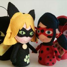 Cat Noir & Ladybug
