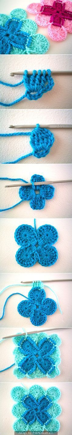 "#Crochet_Tutorial for ""Bavarian Crochet. Complete instructions with text at Sarah London's blog. Click on the source to get the pattern."" Enjoy your crochet from #KnittingGuru ** http://www.pinterest.com/KnittingGuru"