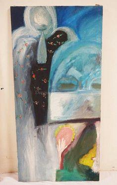 RICHARD MANN ABSTRACT OIL PAINTING ON CANVAS. 22 X 50 INCHES. Lot 1180 | #1760701536 Oil Painting Abstract, Art, Craft Art, Kunst, Abstract Oil, Art Education, Sanat
