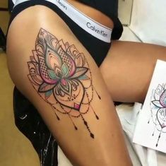 Impressive Tattoos by Angelika Ferrous