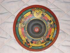 1930's WALT DISNEY - MICKEY MOUSE & FRIENDS TIN LITHOGRAPHED SPINNING TOP | eBay Walt Disney Mickey Mouse, Mickey Mouse And Friends, Disney Collectibles, Spinning Top, Old Toys, Vintage Disney, Disney Magic, Vintage Toys, 1930s