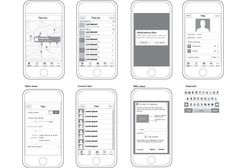 Template for iPhone Design