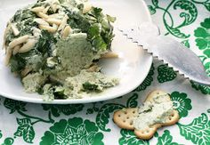 Coconut & Lime // Rachel Rappaport: Gorgonzola Chive Cheese Ball