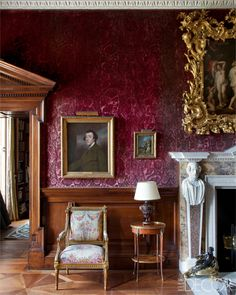 Irish Country Estate Drawing Room - Russborough House Ireland