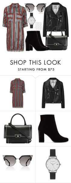 """Sem título #2977"" by beatrizvilar ❤ liked on Polyvore featuring Topshop, Acne Studios, Givenchy, Yves Saint Laurent, Fendi, Olivia Burton and ASOS"