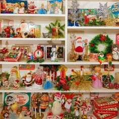 So many Christmas goodies to look at.