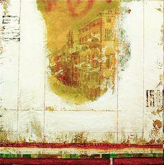 Le passé antérieur by Maryline Lemaitre - Mixed media on canvas 24x24 inches / 61x61 cm http://www.marylinelemaitre.com/en/gallery.html