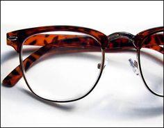 BROWLINE G-Man Hornrim 3.00 Reading Glasses Tortoise Geek-Style Nerd Hipster