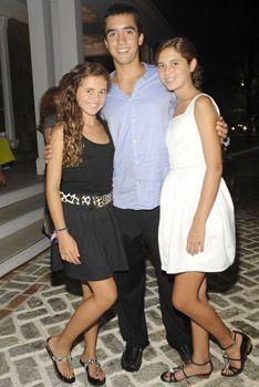 Caroline, Teddy, Eunice Shriver