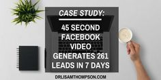 This is a very cool case study. http://www.drlisamthompson.com/facebook-video-case-study/