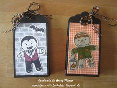 Stempelhex-mit-Farbenklex: Goodies für Halloween