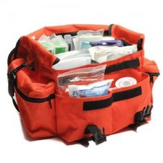 Prepping 101: Survival Medicine; It's good to start with a basic stocked trauma bag. then you can add more of what you think you might need.