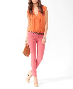 color pants...all the colors. I want. I want!